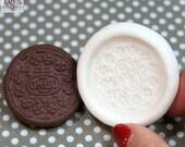 OREO cookie Flexible silicone mold (4,5cm) / cookie flexible mold normal OREO