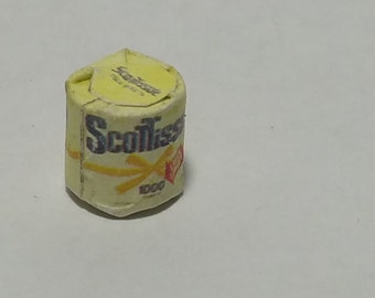 1:12 Scale Bathroom Tissue, Mini Toilet Paper