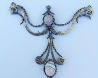 Handmade Pendant, Boho Style
