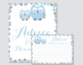 Blue Owl Baby Shower Advi...