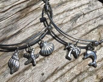 BANGLE Bracelet   Stainless Steel Bangle   Stackable Bangle Bracelet   Design Your Own   Personalized Bangle Bracelet