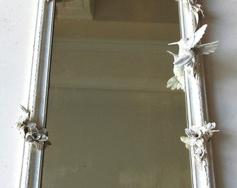 Handmade Sculpture Mirror -MSR Hummingbird
