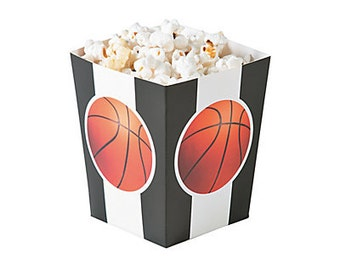 12/The Best Basketball Popcorn Boxes / favor boxes / treat boxes
