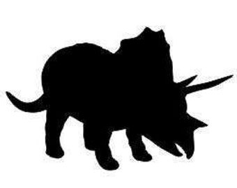 Triceratops Decal:  Kids Room decals, Dinosaur Decals, Animal Decal, Triceratops Gifts, Birthday gifts for kids, Kids Wall Decor