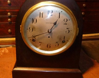 1930's Seth Thomas Cathedral Shelf Clock