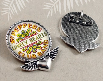 Beatles Jewelry, Sargent Peppers Pin, Lonely hearts Club Band Earrings, British Icons, The Beatles, Beatles Fan, Srgt. Peppers