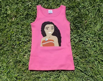 Moana Shirt, Polynesian Princess Shirt