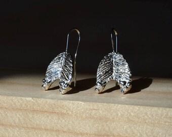 Solid Silver Earrings Hooks. Everyday Earrings. Dangle Earrings. Silver Earrings dangle. Delicate Earrings. Silver Earrings. Silver Jewelry.
