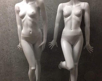 Reduced to Half Price - Vintage ET Cranston / Almax Mannequins - 1990's