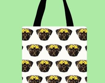 Tote bag carlinos/ Pugs tote bag