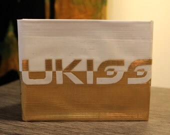 Ukiss Kpop Duct Tape Wallet