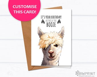 birthday card boyfriend  etsy uk, Birthday card