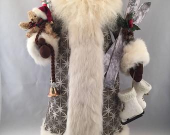 Snow Fall Santa
