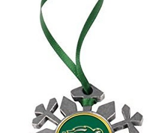 North Dakota State Bison Snowflake Ornament