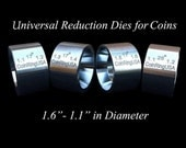 """The Original 4-Die Set of UNIVERSAL Folding / Reduction Dies, 1.1"""" - 1.6"""" @ 17 Degree Tapers, and a """"Fat Tire"""" Die @ 25 Degree Tapers"""