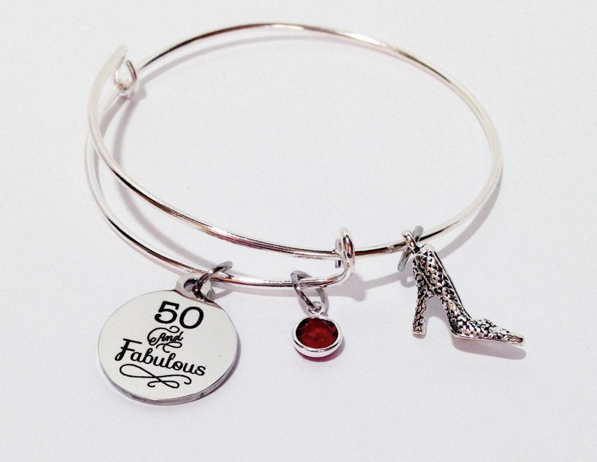 50 And Fabulous 50th Birthday Gift 50 Birthday 50th Birthday