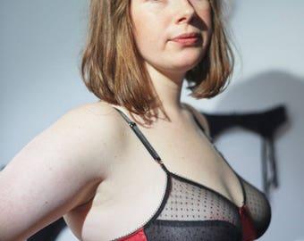 Ella Bralette - XXS-4XL - bespoke - made to measure - handmade lingerie