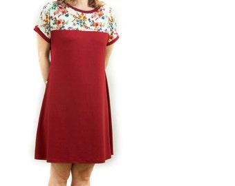 Summer Calendula dress Wide design short sleeves Barcelona women's clothing office weekend