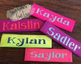 Personalized Kids Popsicle Holder,Popsicle Sleeve,Popsicle Blanks,Ice Pop Holder,End of School,Last Day,Easter,Beach,Camping,Summer