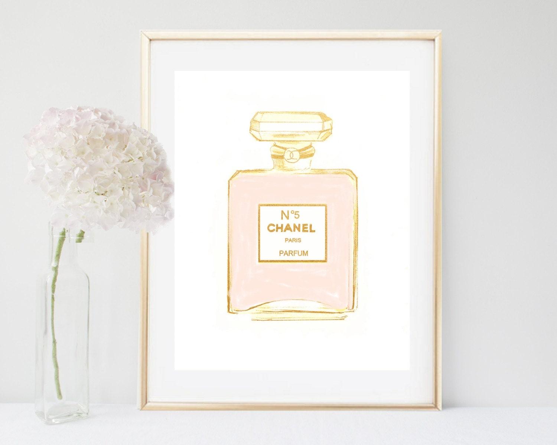 chanel coco chanel print chanel perfume printable art coco. Black Bedroom Furniture Sets. Home Design Ideas