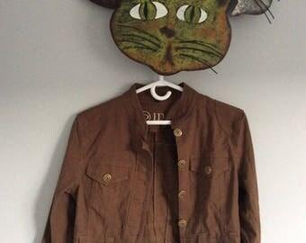 Jacket brown medium Idao