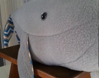 Stuffed Humpback Whale Toy- Palu Palu