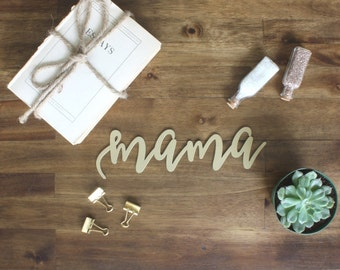 Mama Chair Sign Baby Shower