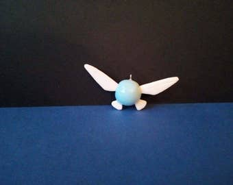 The Legend of Zelda - Navi - charm - polymer clay - handmade - (Inspired)