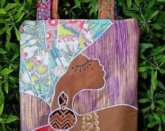 Queen - Hand Made Carry All Purse