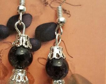 Handmade Dangling Beaded Earrings