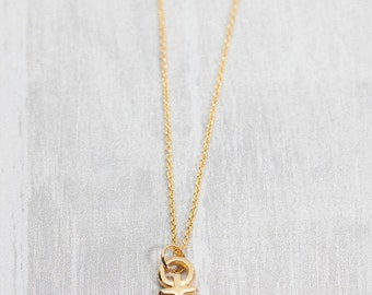 Yellow Gold anchor chain