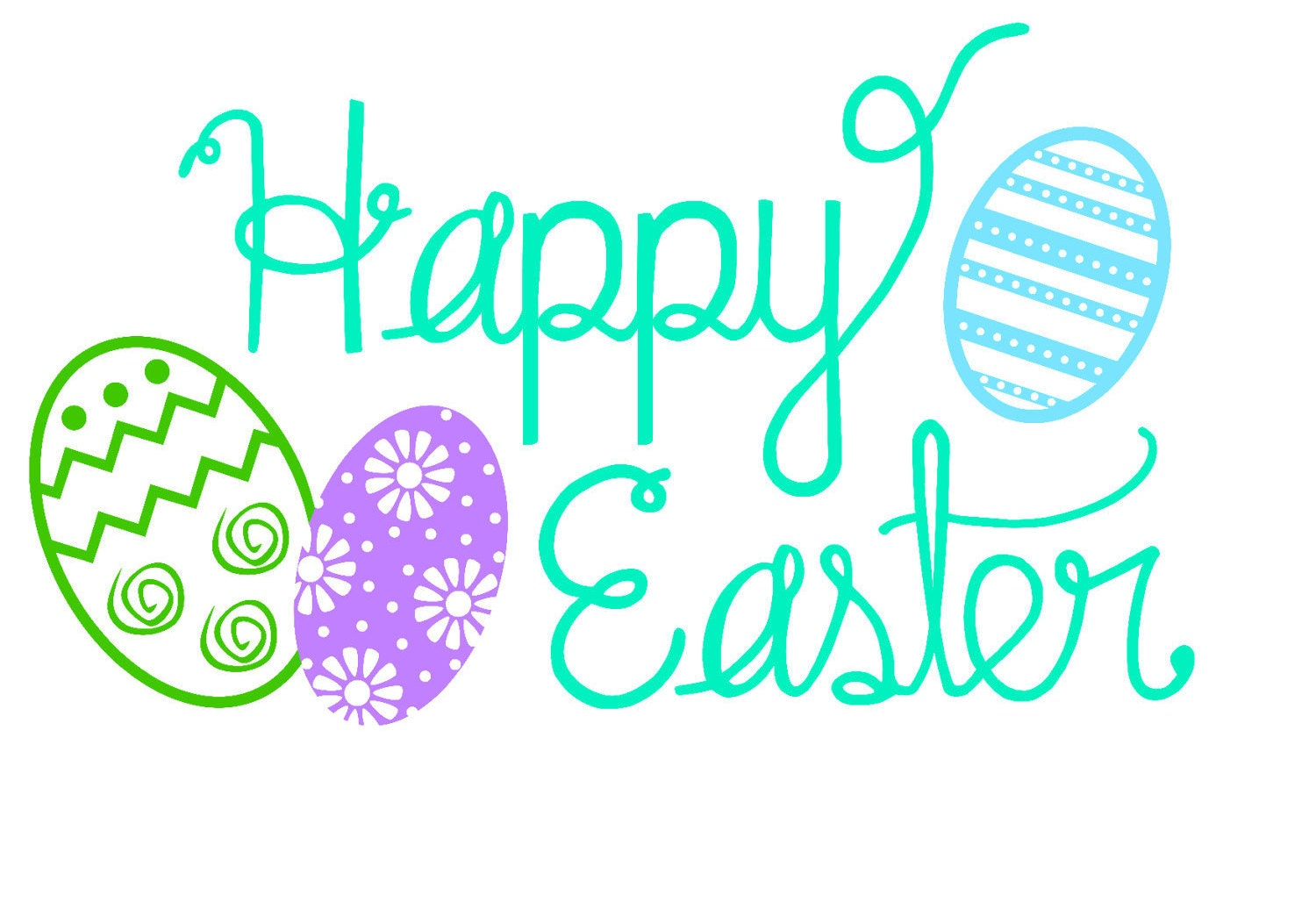 Download Happy Easter SVG Files - Cut File For Silhouette, Cricut ...
