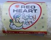 DESTASH - Red Heart Baby Teri Solid