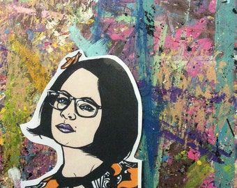 Enid Ghost World Sticker