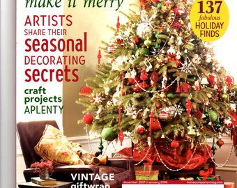 Mary Engelbreit's Home Companion December 2007/January2008 Magazine
