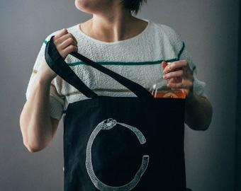 Broken Ouroboros Tote Bag