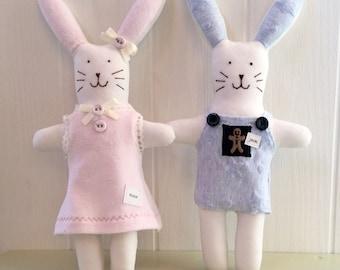 Mini Bunny. Babygro Bunny. Keepsake Bunny. Easter Bunny. Memory Bunny. Art Bunny. Bunny Rabbit doll. Little Hoppy Bunny. Mini Keepsake.