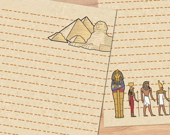 Walk Like An Egyptian - A5 Stationery - 12, 24 or 48 sheets
