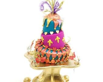 1:12 Harlequin Wonky Cake Kit
