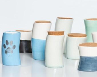 Custom Pet Urn   Dog Memorial   Pet Urns   Cremation Urn handmade ceramic from my Charleston, SC studio
