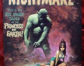 RESERVED Nightmare Magazine 1973 No 10 Comic Skywald Basil Wolverton Bernie Wrightson Frogs Satan Demon Possession Gargoyles Undead Horror
