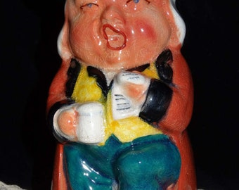 The Singer Toby Mug/ Pitcher by Burlington Ware made in England
