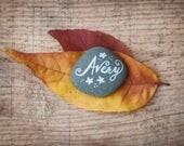 Story Stones | Names on Stones | Memorial | Handmade | Custom | Rock Art | Nature Art