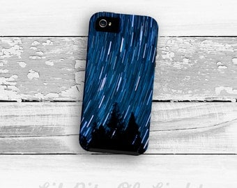Star Trail iPhone 7 Case - Star iPhone 6s Plus Cover - iPhone 5s Case - Night Sky iPhone - Starry Night iPhone SE Case - Sky iPhone 6 Case