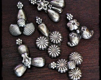 Tribal Silver Amulet from Rajasthan India