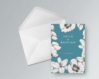 Wedding card to print out. PDF