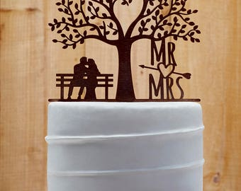 Mr and Mrs Wedding Cake Topper Customized Wedding Cake Topper, Personalized Cake Topper for Wedding,Custom Personalized Wedding Cake Topper3