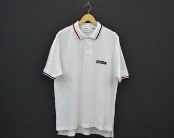 Ellesse Shirt Ellesse Casual Shirt Ellesse Polo Shirt Mens Size L