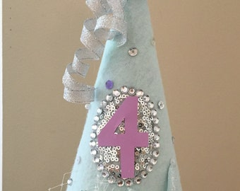 Mystical Mermaid Birthday Party Hat