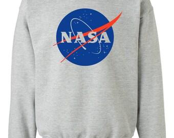 NASA Sweatshirt Gray Unisex